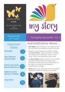 My Story Newsletter Issue #2