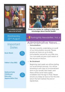My Story Newsletter Issue #6