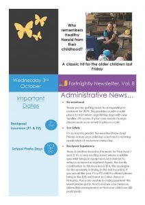 My Story Newsletter Issue #8