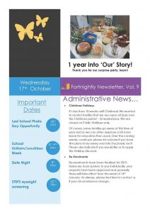 My Story Newsletter Issue #9